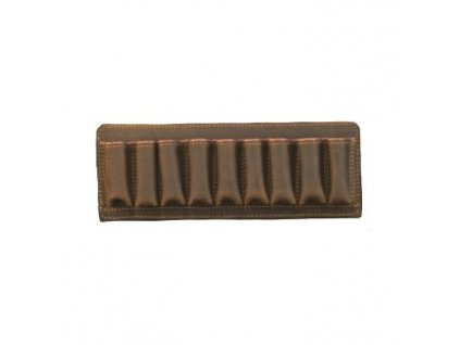 Nábojové pouzdro Artipel, kožené, pro brokové náboje ráže 12, 8 buněk
