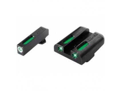 Mířidla Truglo, TFX, Tritium + Fiber Optics, pro pistole Glock, nízké, extrémně odolná!