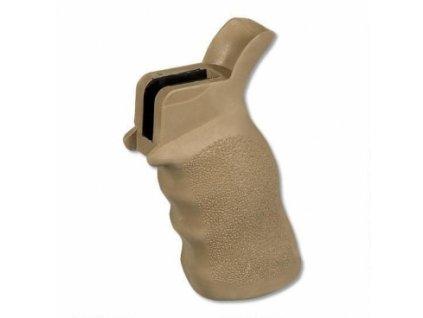 Pažbička ERGO Tactical DeLuxe Sure Grip, pro MSR-15, anatomická,  Desert Tan