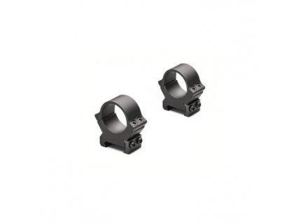 Kroužky Leupold, PRW2, pevná na Weaver/Picatinny, 30mm, nízké, matně černé