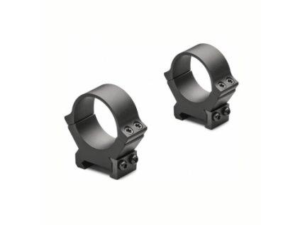 Kroužky Leupold, PRW2, pevné na Weaver/Picatinny, 30mm, vysoké, matně černé