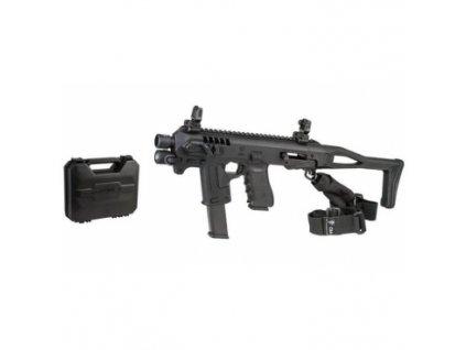 Karabinová konverze CAA, Micro RONI, pro pistole Glock 17, Advanced Set, černá