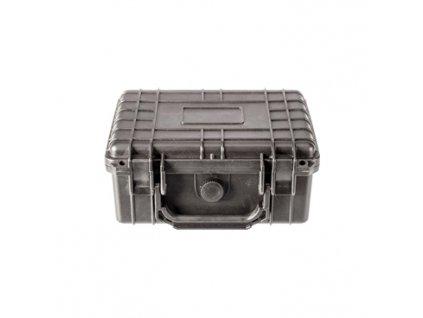 Vodotěsný kufřík, objem 2,7l, rozměry: 208x146x94mm, pro přepravu nábojů, černý
