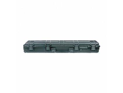Vodotěsný kufr, objem 48l, rozměr: 1062x340x135, pro zbraně, černý