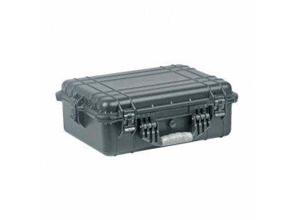 Vodotěsný kufr, objem 23l, rozměry: 452x320x162mm, na zbraně a střelivo, černý