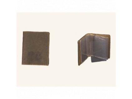 Kožené pouzdro na doklady Artipel