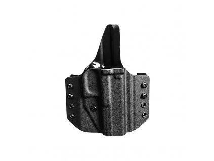 Kydex pouzdro Uncle Mike's, CCW, pro pistole Glock 43, pravé černé