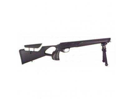 Pažba Raven Arms, Model: M82 pro pušky Blaser R8, stavitelná lícnice, karbon