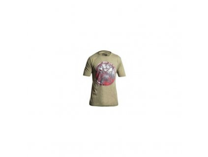 "Tričko Vertx, ""Shield"" Ranger, krátký rukáv, barva: Desert Tan, s logem, vel.: XL"