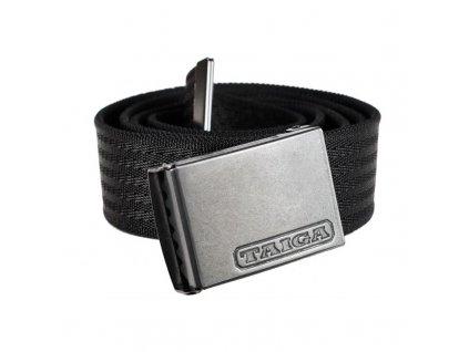 Pásek Taiga Hogan Stretch Belt, velikost: uni, barva: černá