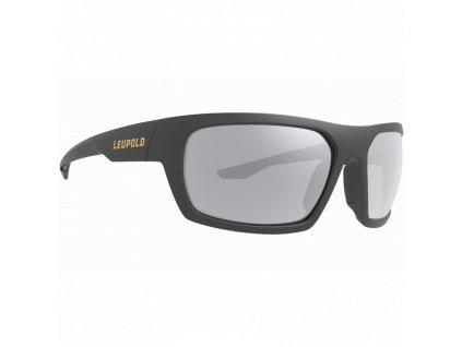 Střelecké brýle Leupold, Packout, zrcadlové, sluneční, polarizované, matně šedé sklo