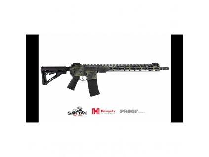 "Puška sam. San Tan Tactical, Model: STT-15, Ráže: 6mm ARC, hl 18"" Proof Research, Cerakote"