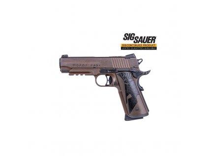 "Pistole samonab. Sig Sauer, Mod.: 1911 Spartan II Carry, Ráže:.45 ACP, hl.: 4,2"", 8+1 ran"
