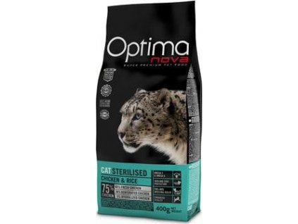 Optima Nova Cat Sterilised 400g