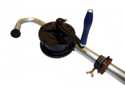 Ruční pumpa s klikiou na palivo a maziva