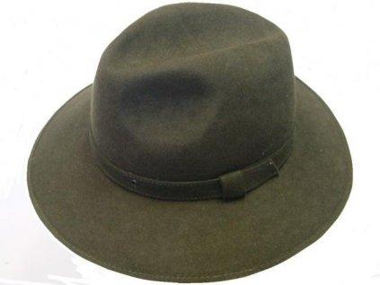Myslivecký klobouk vlněná plsť