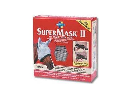 FARNAM Supermask II s ušima vel. HORSE šedo-modrá