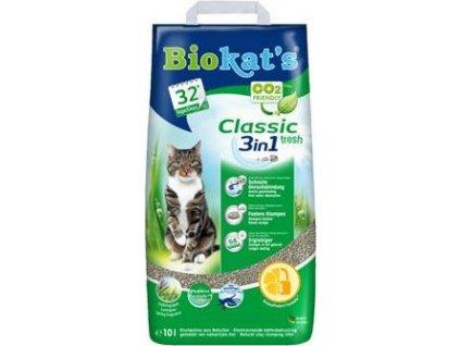 Podestýlka Cat Biokat's Classic Fresh 10l