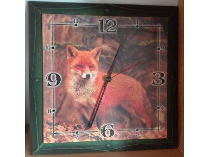 Myslivecké hodiny - liška