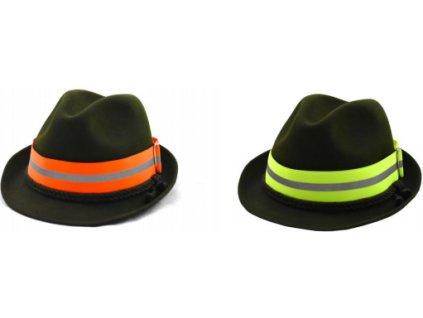 Reflexní pásky na klobouk s proužkem*