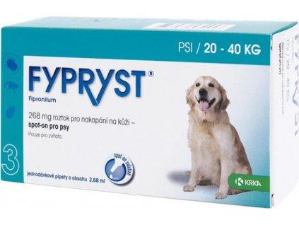 Fypryst spot on a.u.v. L (pes 20-40kg) sol 1x2,68 ml