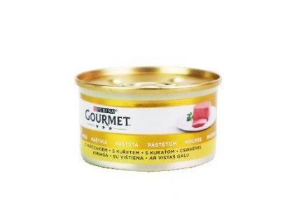 Gourmet Gold konz. kočka pašt. s kuř.masem 85g
