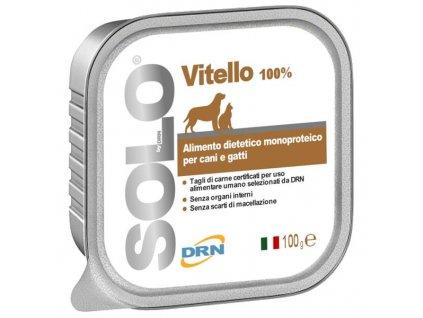 SOLO Vitello 100% (telecí) vanička 100g
