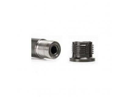 Adaptér A-TEC, A-LOCK Mini, na závit M13x1mm, pro tlumiče s upínáním na A-LOCK Mini