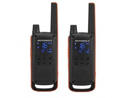 Motorola TLKR T82, oranžová/černá