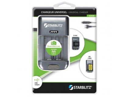 Starblitz SCH20 univerzální nabíječka baterií
