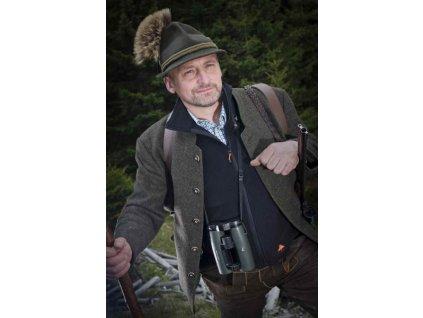 Vyhřívaná vesta Alpenheat fleece XXXL