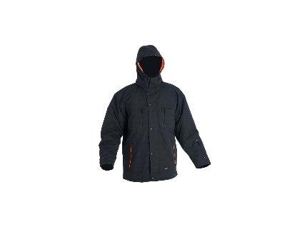 Zimní nepromokavá bunda EMERTON, s kapucí XXXL
