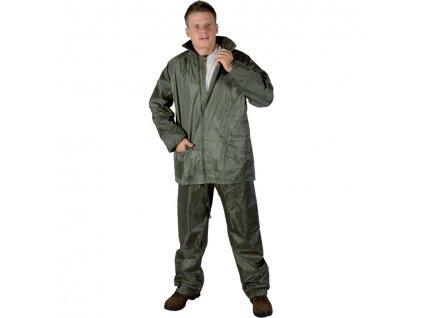 Nepromokavý oblek HYDRA khaki PVC