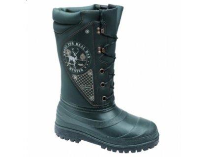Myslivecká zimní obuv HUNTER SPECIAL 3801 zelená