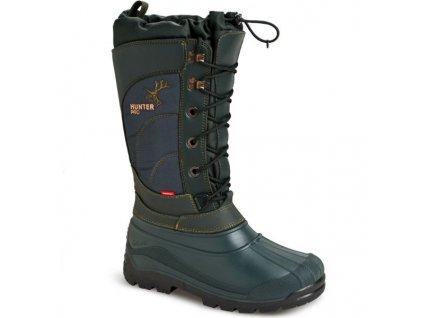 Lovecká zimní obuv HUNTER PRO 3811 zelená