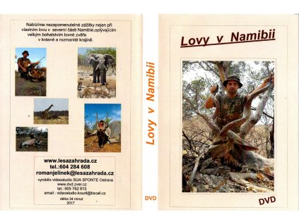 dvd lovy v Namibii