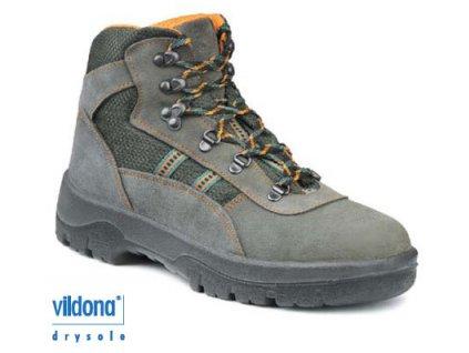 Trekingová obuv WINTOPERK GOBI, kožená, s Cordurou 47