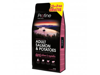 NEW Profine Adult Salmon & Potatoes 15kg + salám ZDARMA