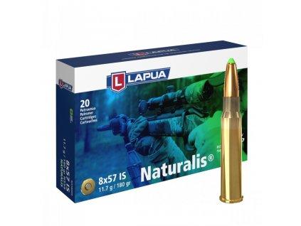 Lapua 8x57 IS NATURALIS, N559, Solid, 11,60g, 180gr