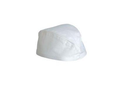 Kuchařská čepice lodička VOLANS, 100 % bavlna