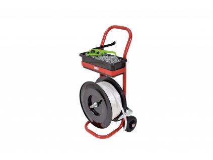 Pracovní vozík k baličce KRPAN