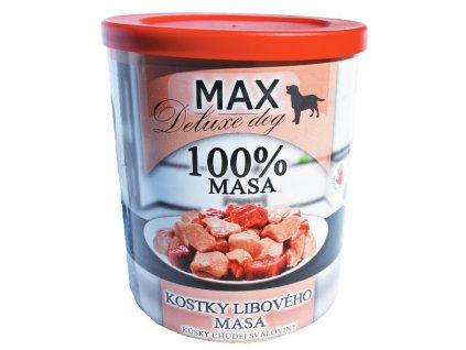 MAX deluxe kostky libové svaloviny 800g
