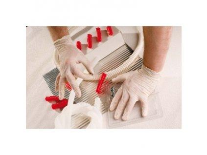 Jednorázové rukavice Loon, latex, pudrované balení 100KS