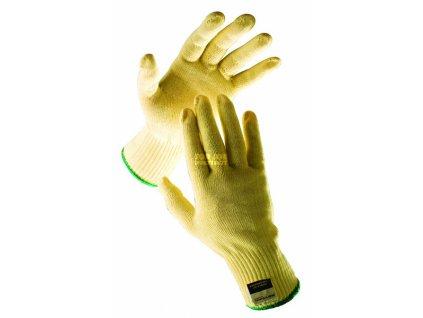 Protiřezné rukavice GADWALL, kevlarový úplet