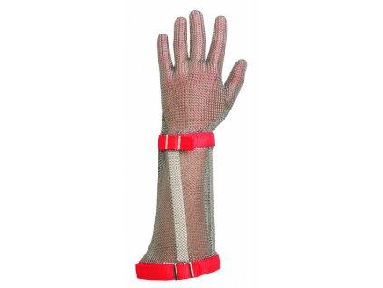 Kovové rukavice BATMETAL, nerezové kroužky XXL