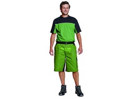 Šortky STANMORE, zelené, 100 % bavlna