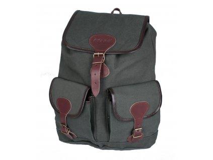 Myslivecký ruksak plátno malý
