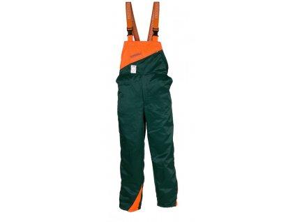 Samostatné protipořezové kalhoty s náprsenkou Profesional