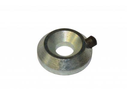 Ocelová podložka odkorňovače