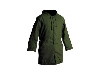 Pracovní bunda NORMA - zelený impregnovaný vaťák